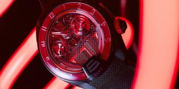 創意之光照亮時光:HYT發表H4 Red Fluid、Green Fluid、Green Fluid Multi及Blue Fluid 限量版腕錶