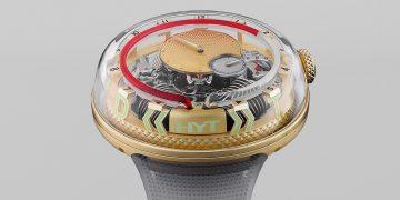 液體與工藝結合:HYT H<sup>2</sup>0 »TIME IS FLUID« 腕錶