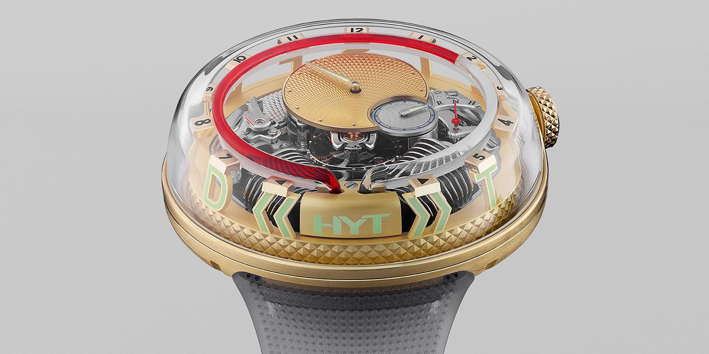 液體與工藝結合:HYT H20 »TIME IS FLUID« 腕錶