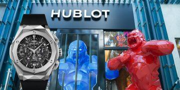 狂野的時計:Hublot Classic Fusion Orlinski聯名計時碼錶