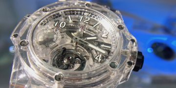 清澈又堅硬!Hublot藍寶石水晶錶殼