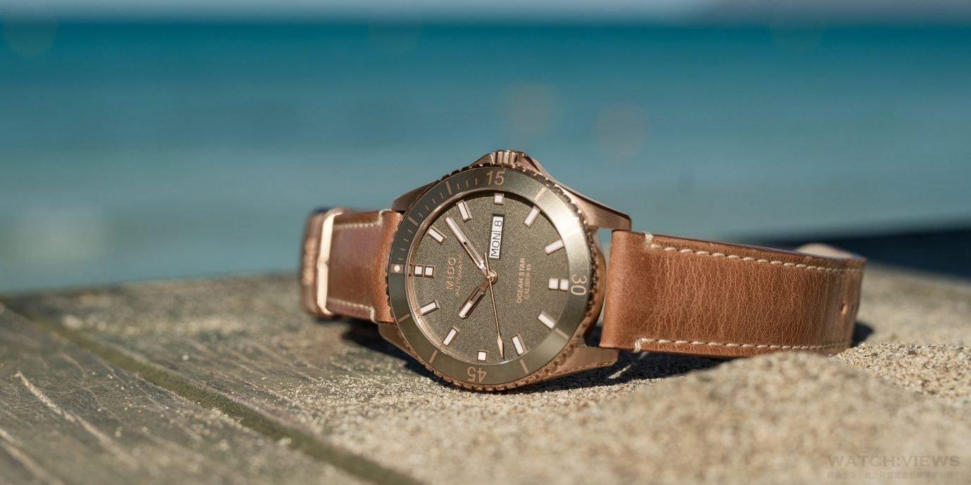【每週一錶】其實不是陶瓷也挺好:Mido Ocean Star Caliber 80