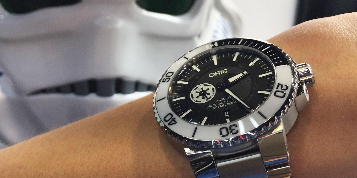 願原力在你腕上:Oris星際大戰限量錶