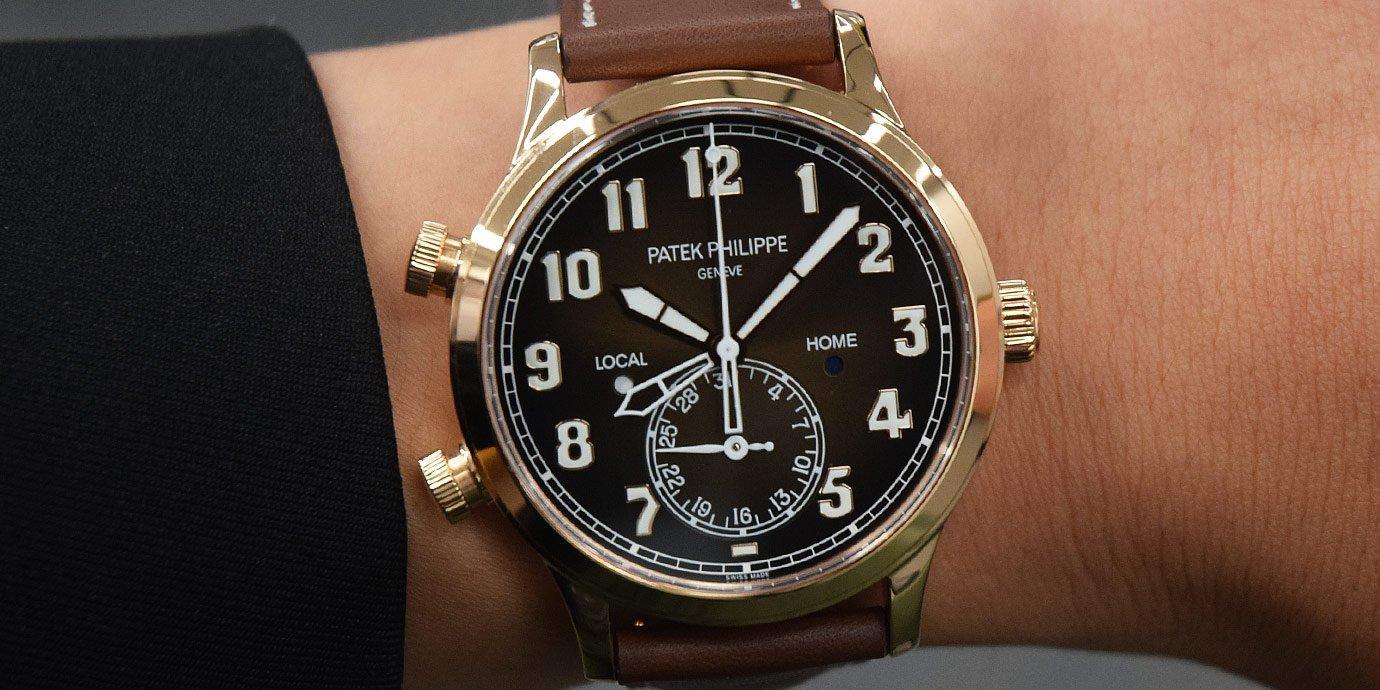 替機師好友選只飛行錶吧!