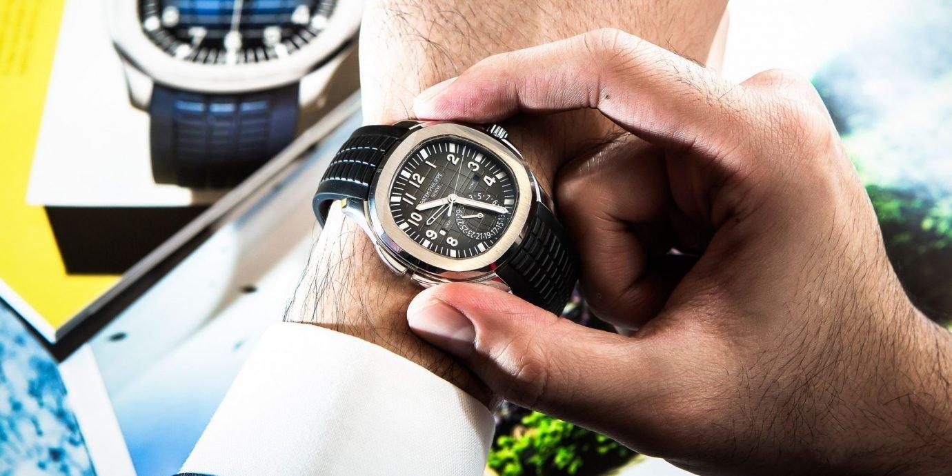 【實戴經驗談】戴一只錶,做一個更好的人:百達翡麗Aquanaut 5164A-001