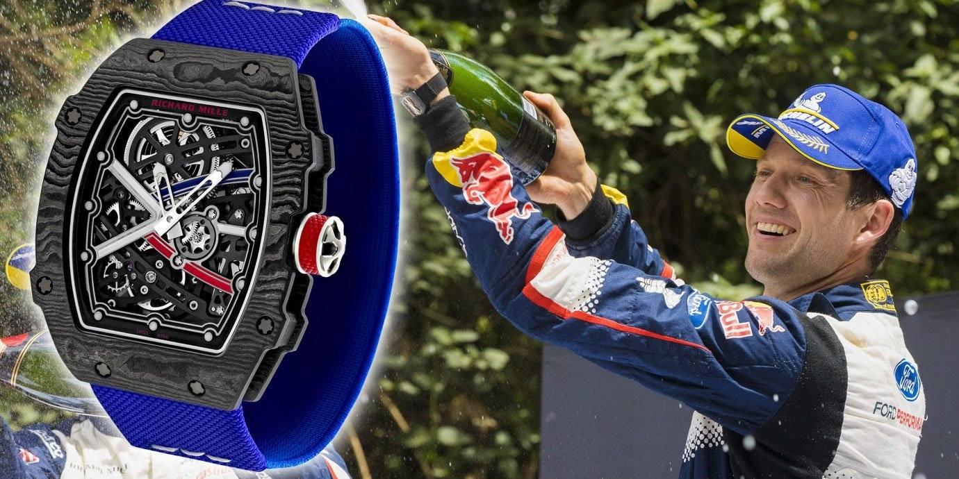第六冠入袋:RICHARD MILLE RM 67-02見證Sébastien Ogier的光榮時刻