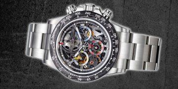 最酷迪通拿! Rolex Daytona鏤空改裝錶
