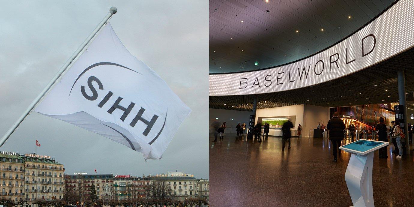 無縫接軌!SIHH與Baselworld宣佈2020年一起在春天開展