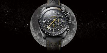歐米茄隆重推出超霸月之暗面阿波羅8號腕錶