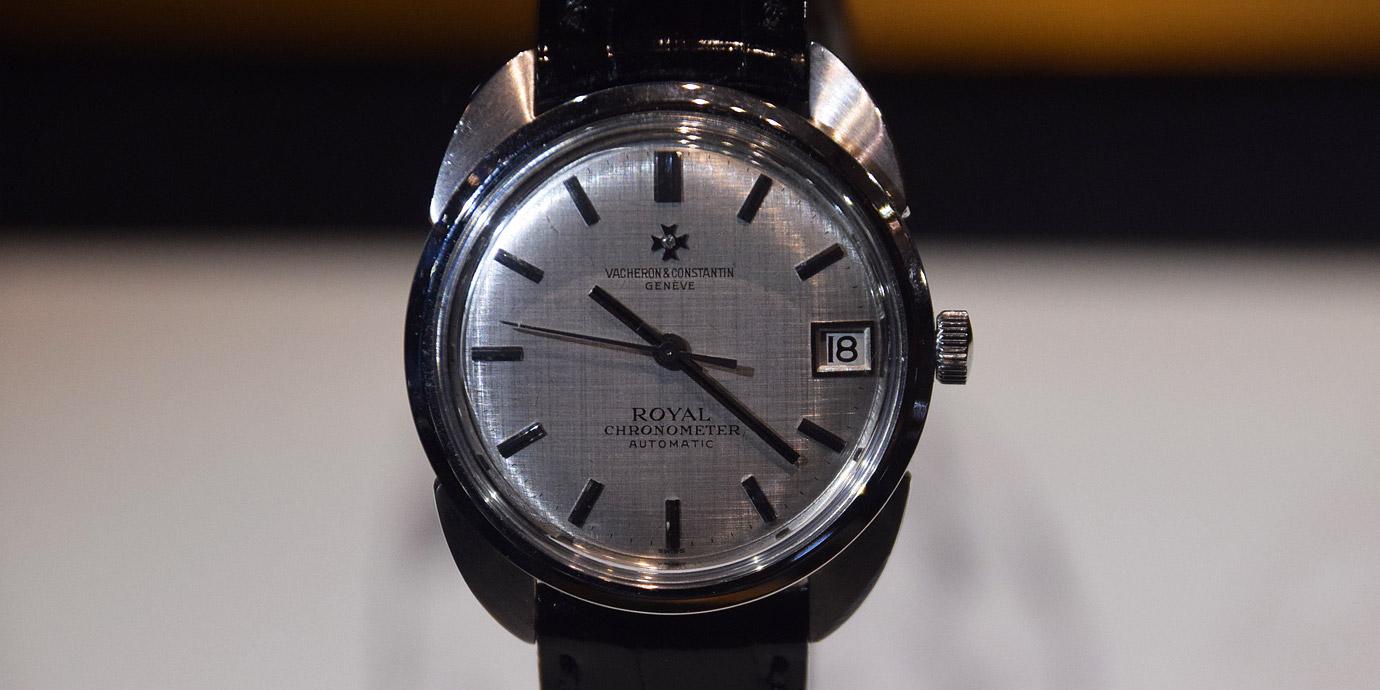 蝙蝠俠現身古董錶? Vacheron Constantin古董鐘錶展