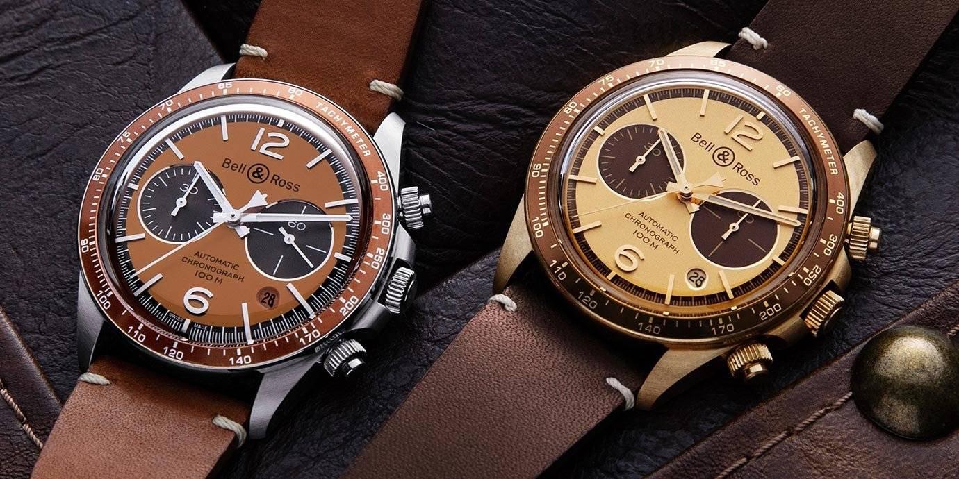 跨界攜手再一波:Bell & Ross推出兩款Bellytanker限量計時錶