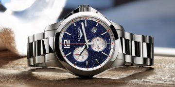藍色砂金石錶盤的誘惑:Longines征服者系列計時碼錶Mikaela Shiffrin特別版