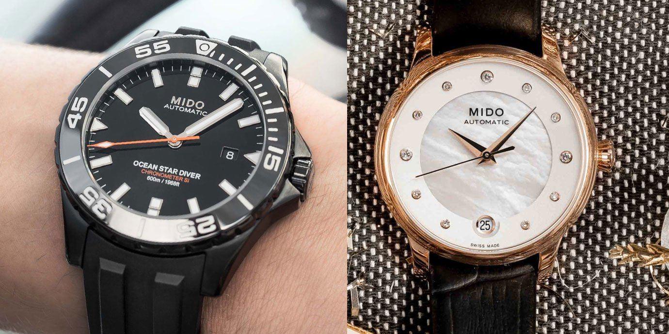 兩大話題腕錶伴佳節:MIDO聖誕推薦錶款