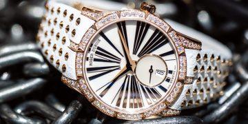 引爆Rocker魂:Roger Dubuis Excalibur 36鑲鑽女錶