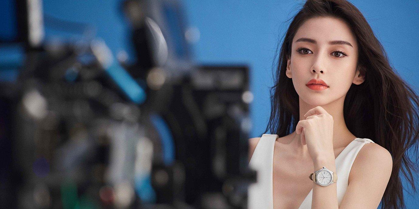 Angelababy魅力詮釋:TAG Heuer F1 Lady腕錶