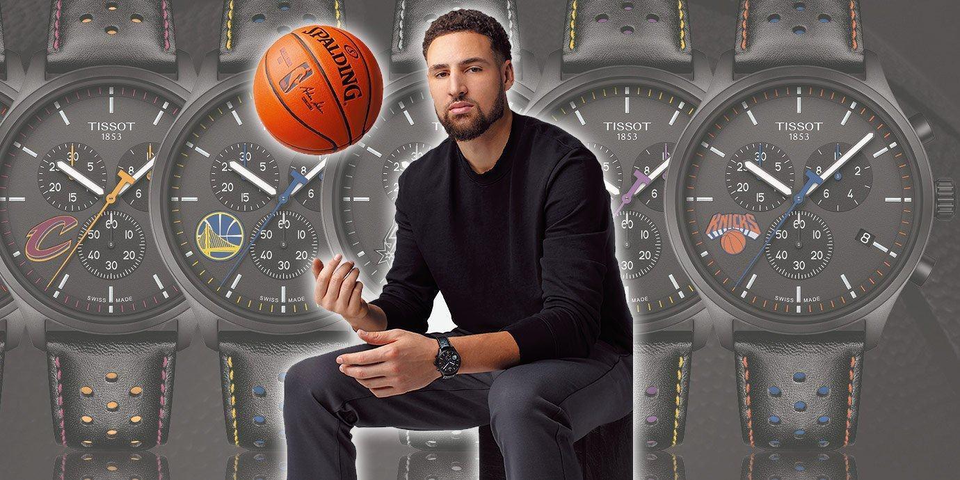 精準教科書:NBA頂尖射手Klay Thompson成為Tissot代言人