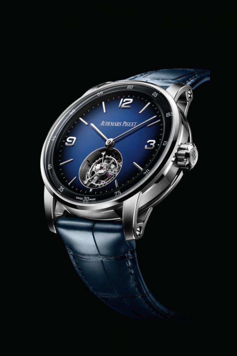 CODE 11.59自動上鍊飛行陀飛輪腕錶