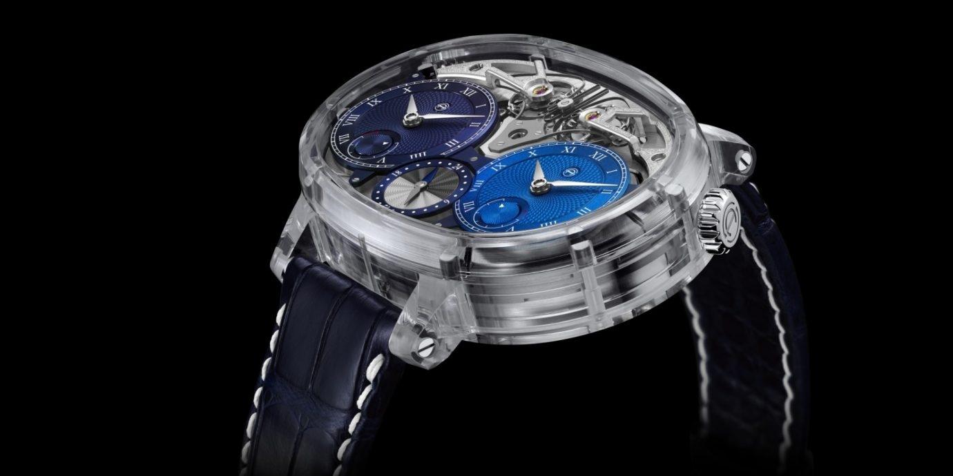 【SIHH 2019錶展報導】Armin Strom Dual Time Resonance Sapphire全方位實現透明