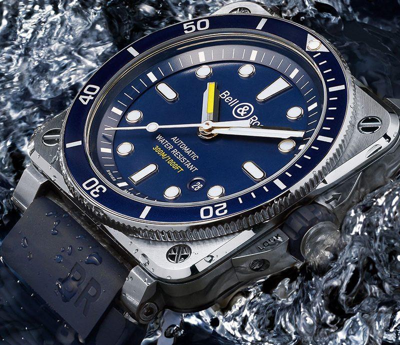 【每週一錶】方形潛水錶的魅力:Bell & Ross BR03-92 Diver Blue