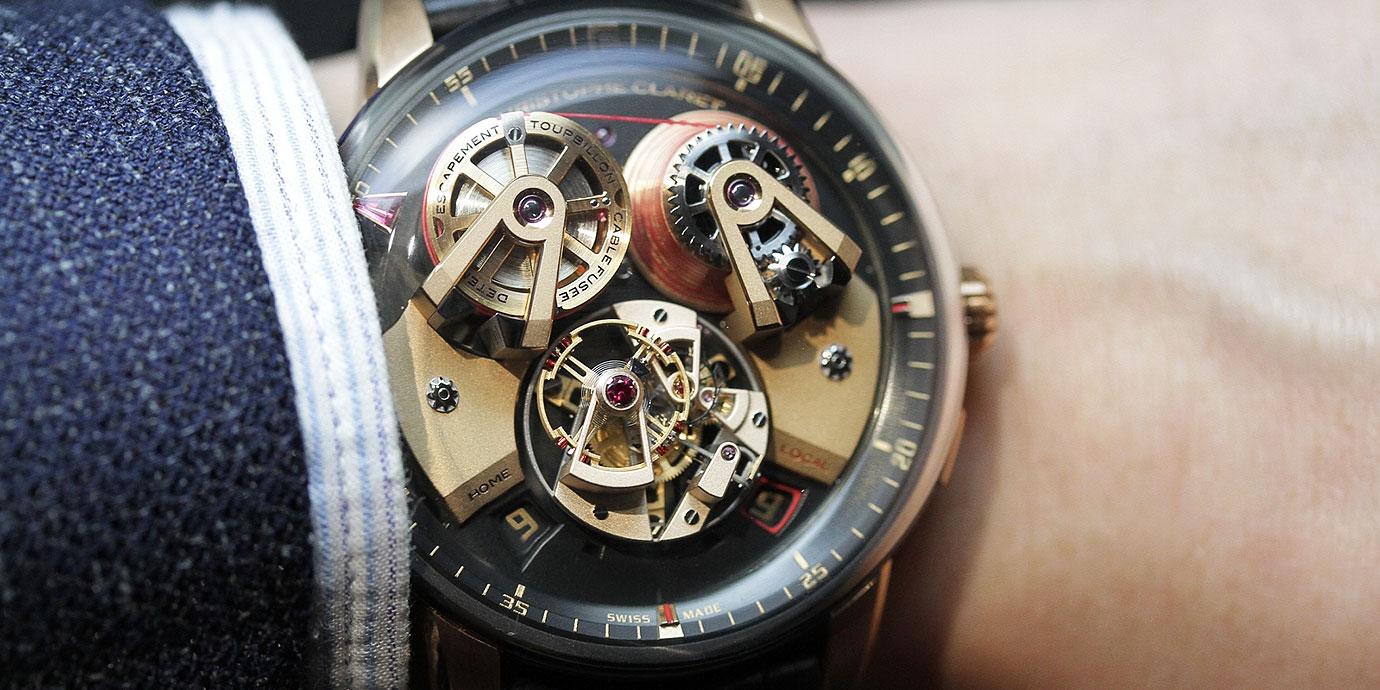 【SIHH 2019錶展報導】靠線纜傳輸動力:Christophe Claret Angelico腕錶