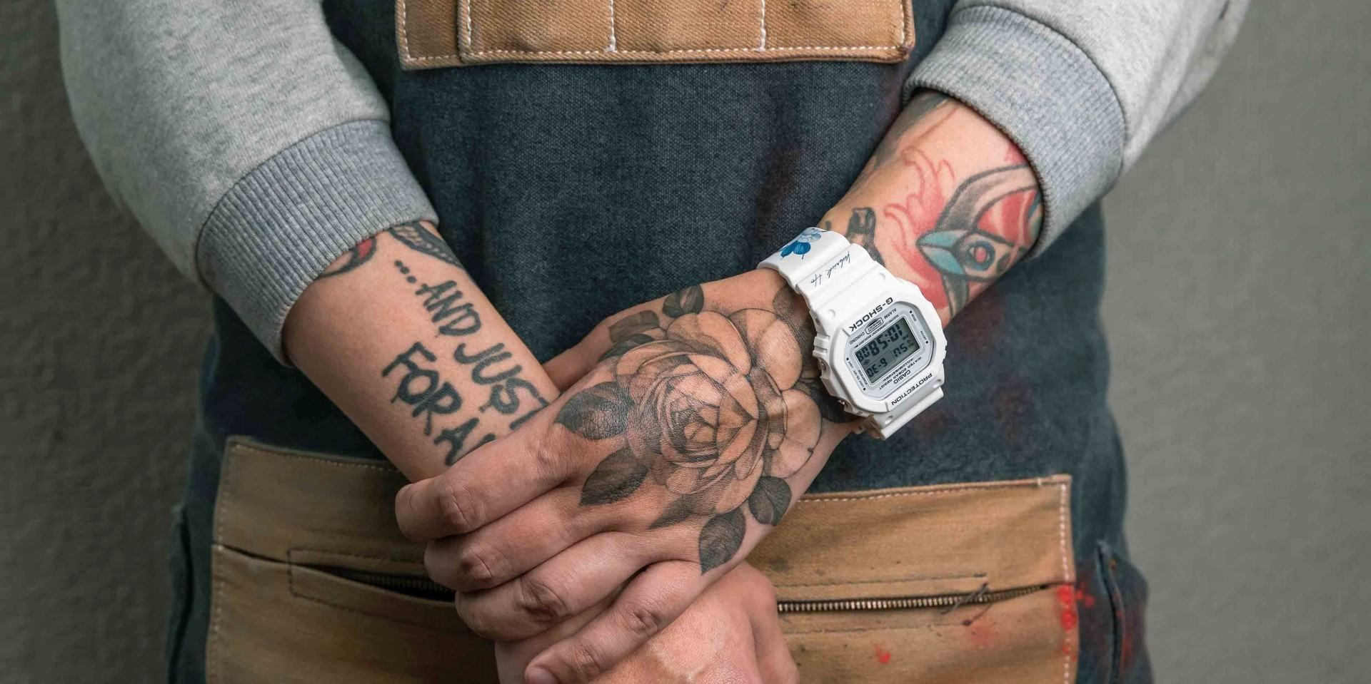 G-SHOCK攜手「正義刺青」人氣刺青師 Kubrick,打造專屬台灣豬年限定錶款