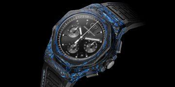 【SIHH 2019錶展報導】比不鏽鋼硬100倍:Girard-Perragaux推出「玻璃碳」材質