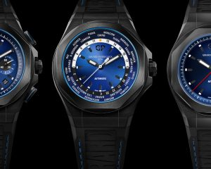 【SIHH 2019錶展報導】靚酷有型:Girard-Perragaux Laureato系列全新腕錶