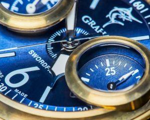 【每週一錶】魚眼下的時間:Graham Swordfish計時腕錶