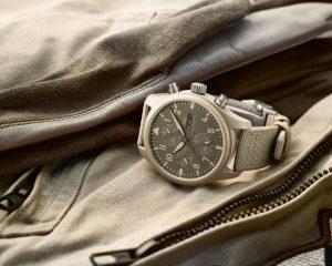 【SIHH 2019錶展報導】IWC以創新錶殼材料打造全新TOP GUN海軍空戰部隊系列腕錶