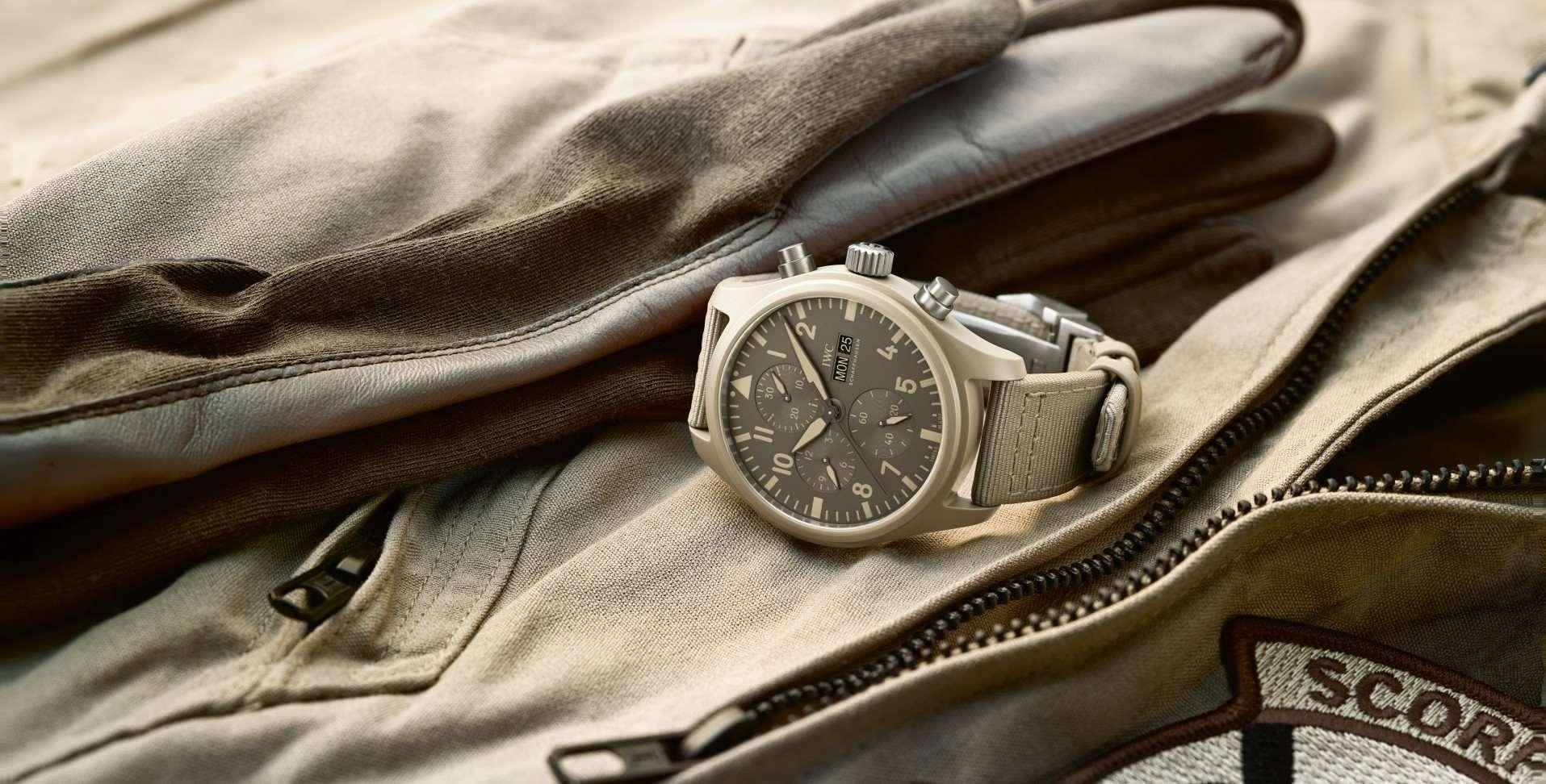 【SIHH 2019錶展報導】IWC以創新錶殼材料打造全新TOP GUN海軍空戰部隊系列腕錶(附價格)