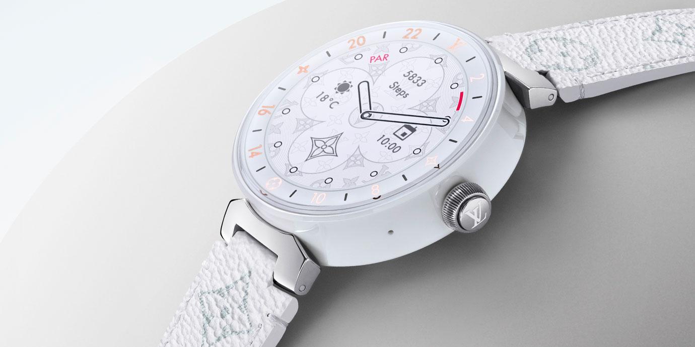 奢華與智慧的連結:Louis Vuitton Tambour Horizon智能腕錶