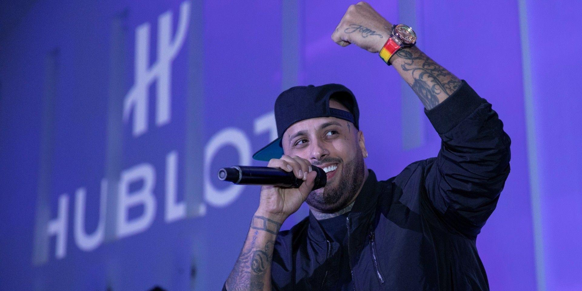Hublot宇舶錶攜手品牌新任大使、雷鬼音樂藝術家Nicky Jam推出三款Big Bang Meca-10 Nicky Jam腕錶