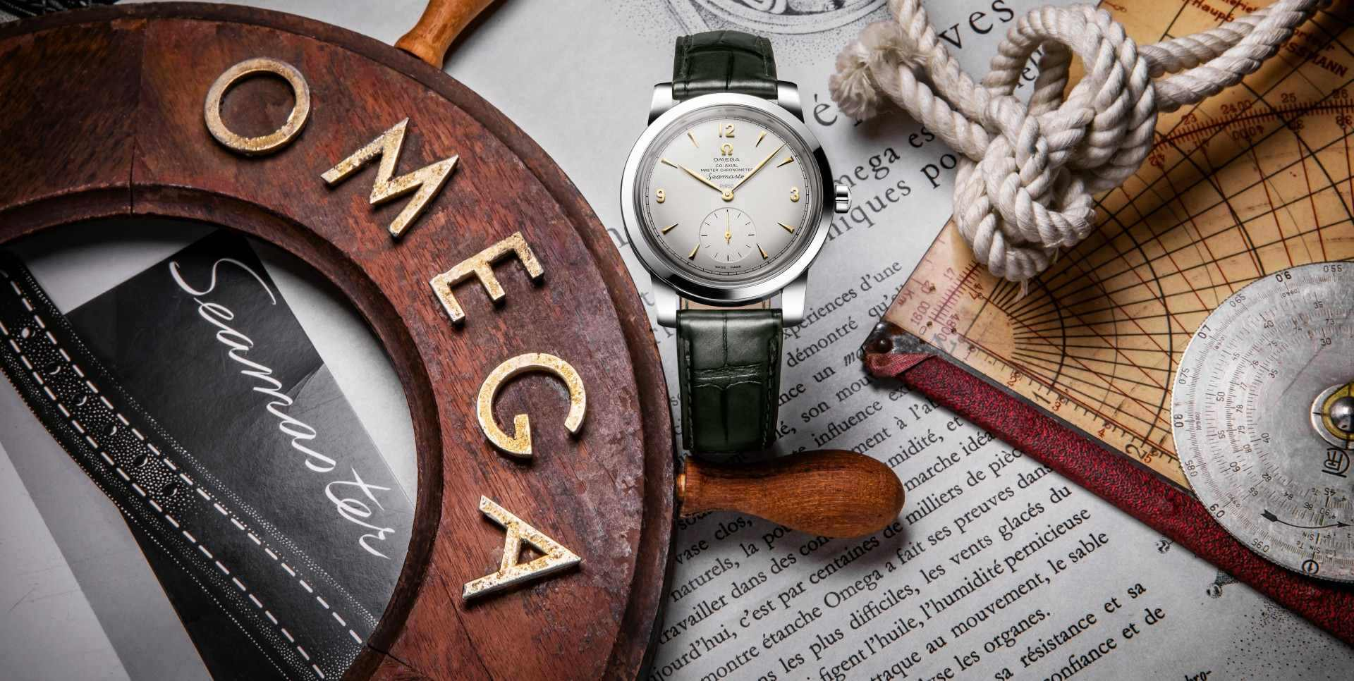 歐米茄全新海馬1948腕錶報到