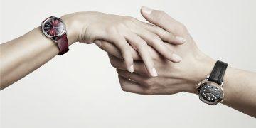 情人節戴上歐米茄腕錶,讓愛意蔓延