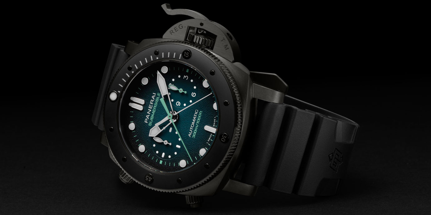 【SIHH 2019錶展報導】深海探險:Panerai Submersible Guillaume Néry版(附價格)