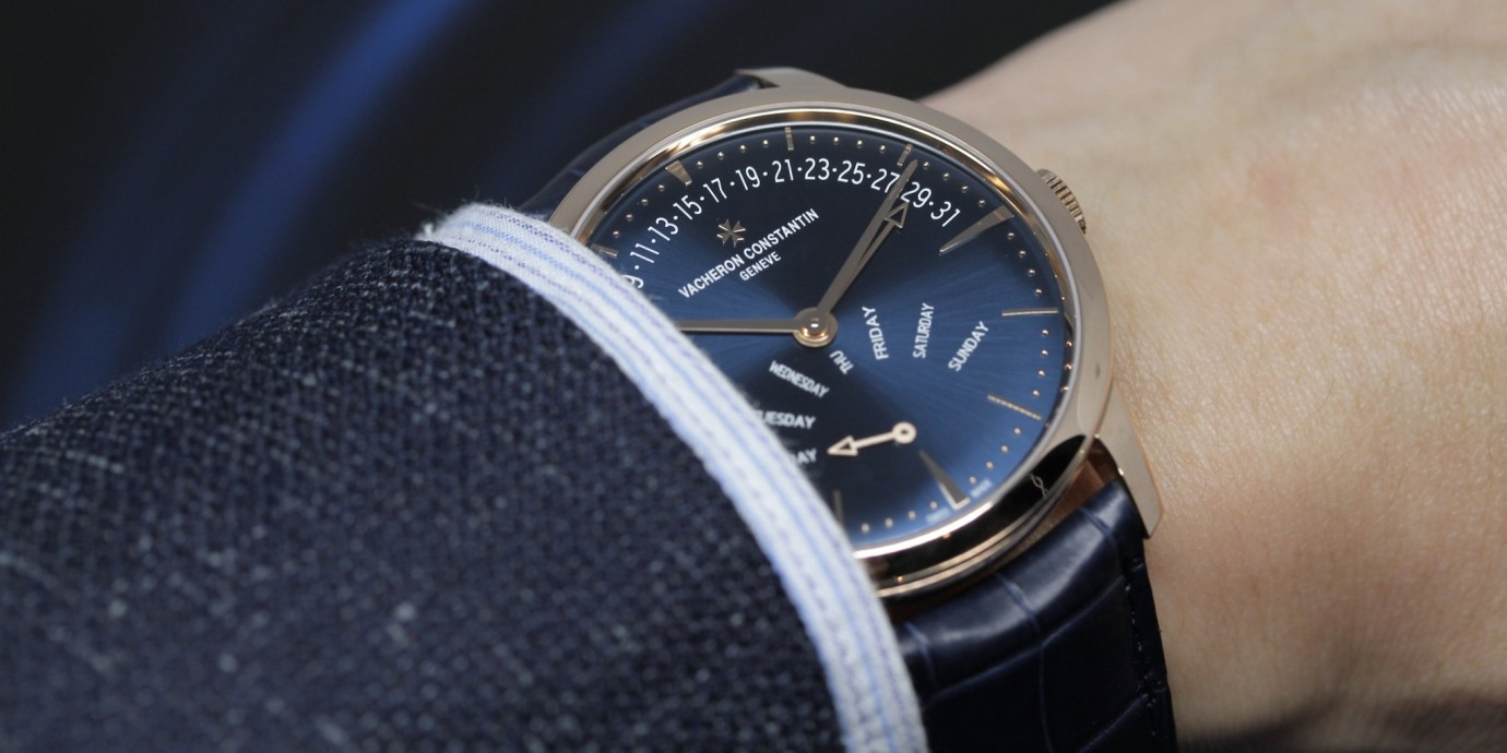 【SIHH 2019錶展報導】純粹而經典、低調簡約:Vacheron Constantin Patrimony系列首次推出「午夜藍」系列新品