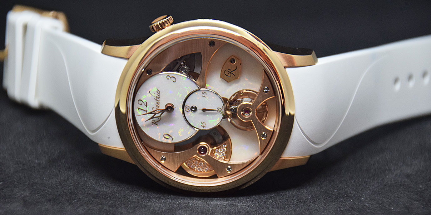 將細節做到極致:Romain Gauthier Insight Micro-Rotor Lady Opal