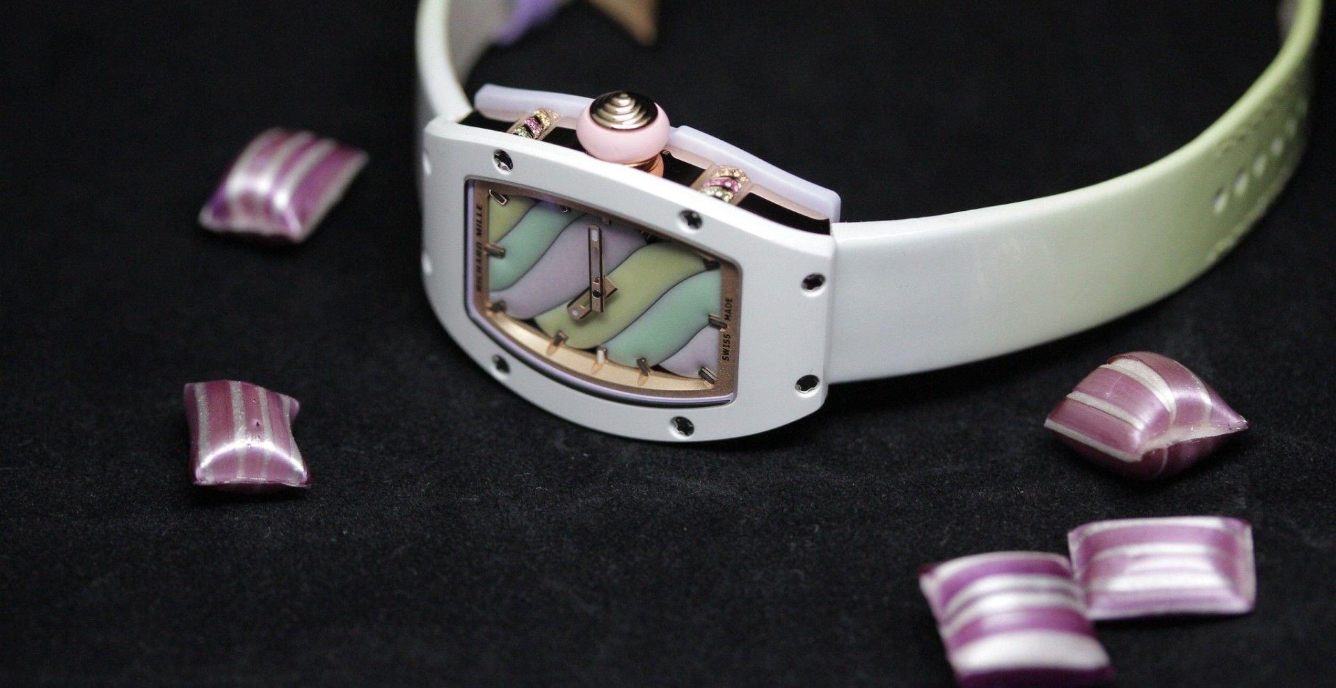 【SIHH 2019錶展報導】眼睛的美味甜點:RICHARD MILLE BONBON 糖果系列腕錶