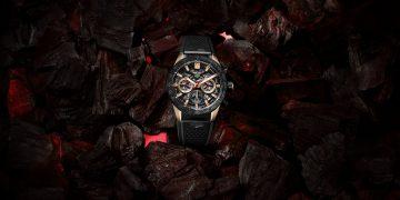 輕裝上陣:TAG Heuer 發表三款Carrera系列鍛造碳腕錶新款式