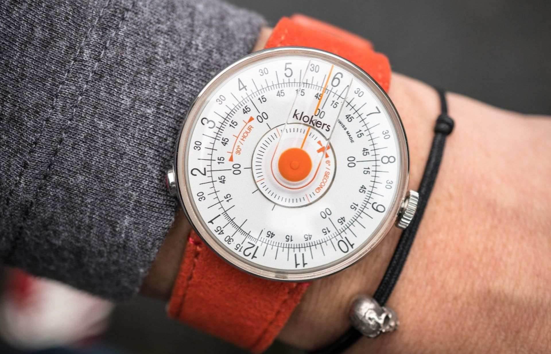 向1960自由年代致意:KLOKERS KLOK-08腕錶玩新意