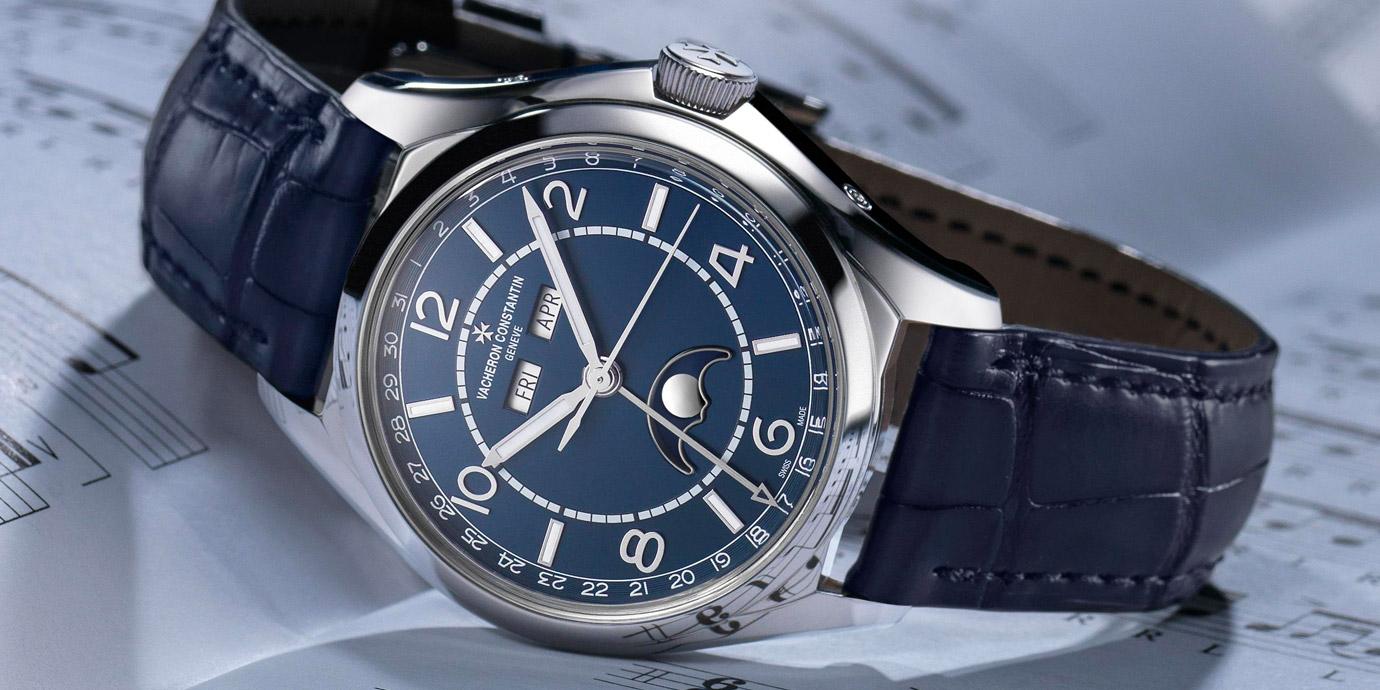 【SIHH 2019錶展報導】不一樣的藍:Vacheron Constantin Fiftysix®系列新款