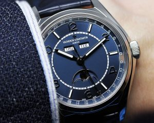 【SIHH 2019錶展報導】不一樣的藍:Vacheron Constantin Fiftysix®系列新款(Video)