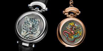【SIHH 2019錶展報導】霸氣紅龍與白虎:Bovet Amadeo Fleurier系列腕錶