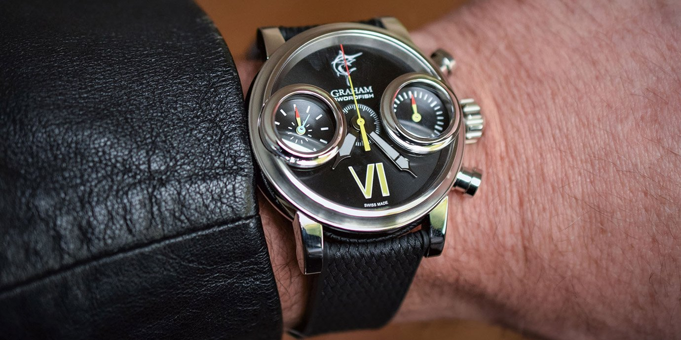 劍魚襲來:Graham Swordfish全新系列腕錶