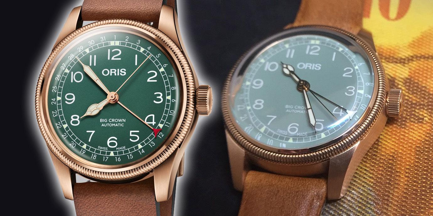 「銅」在一起:Oris Big Crown指針式日期青銅對錶