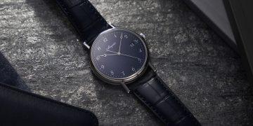 溫潤如玉的手工藝甄品:寶璣經典系列Classique 5177大明火藍色琺瑯腕錶