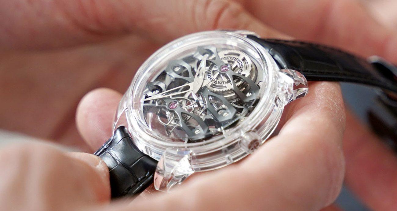 晶瑩剔透新三橋:Girard-Perregaux Quasar腕錶