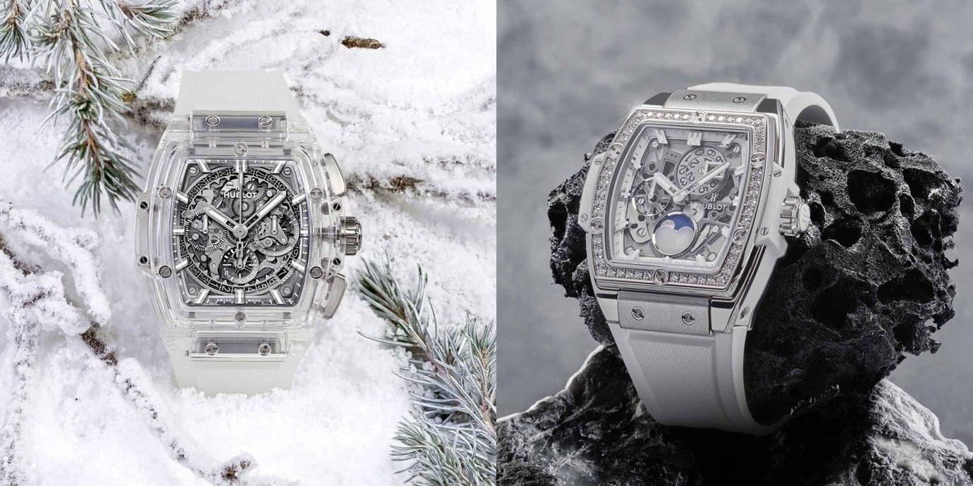 晶瑩剔透的浪漫:Hublot Spirit of Big Bang系列水晶腕錶