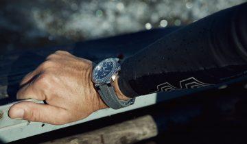 【2019 Pre-Basel錶展報導】ORIS Aquis Relief日期錶與探險游泳選手Ernst Bromeis,走出自己的路