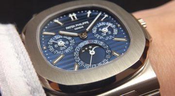 為萬代時計開先鋒:百達翡麗Nautilus金鷹系列萬年曆腕錶
